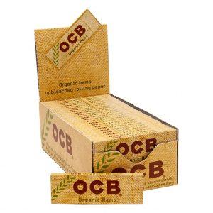 ADD ON - OCB ORGANIC HEMP PAPERS - SINGLE WIDE