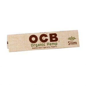 ADD ON - OCB ORGANIC HEMP PAPERS - KINGSIZE SLIM