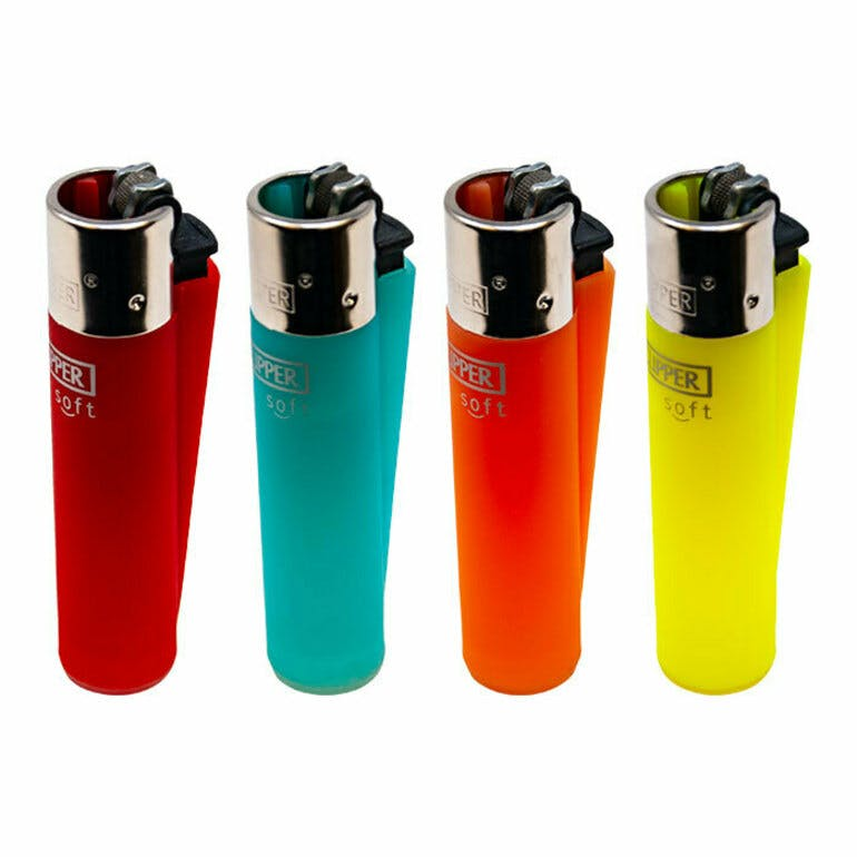 ADD ON - CLIPPER LIGHTERS (VARIOUS COLOURS)